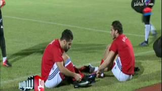 شوبير: لاعبو المنتخب غير راضين عن ارضية الملعب بعد اختبارة