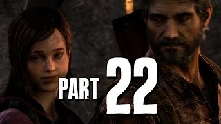 The Last of Us Remastered Walkthrough Part 22 - UNIVERSITY (PS4 Gameplay)