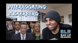 """""""INTERROGATING ZUCKERBERG"""" - A BAD LIP READING REACTION"""