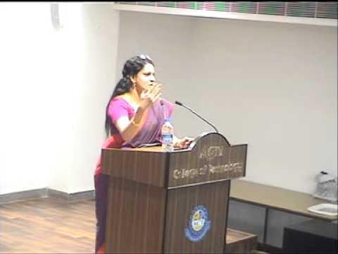 EL-30 Series: Talk by Ms. Bharathi Baskar, Vice president, CITI Bank(Part 2)