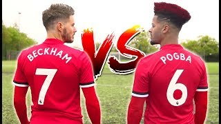DAVID BECKHAM VS PAUL POGBA