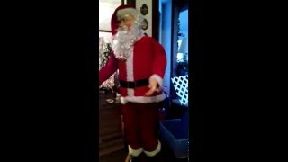 Singing and Dancing Father Christmas