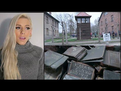 Walking Through Auschwitz WARNING Actual footage of entire camp