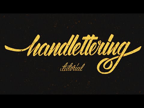 Hand Lettering Tutorial for Beginners
