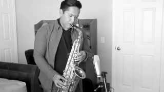 Chris Brown - Lady In A Glass Dress - Saxophone by Abednego Tamba