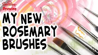 New Rosemary Brushes