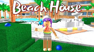 ROBLOX BEACH HOUSE ROLEPLAY | RADIOJH GAMES & GAMER CHAD