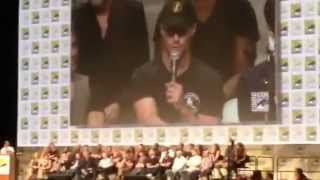 Amell Answers Ras al Ghul & Season 3 Question Hall H SDCC San Diego Comic-Con SDCC