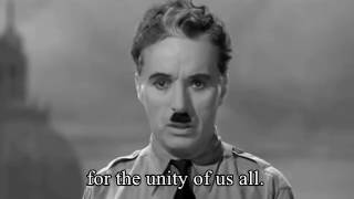 a massage to humanity  |   Great Dictator Speech by  Charlie Chaplin  | |