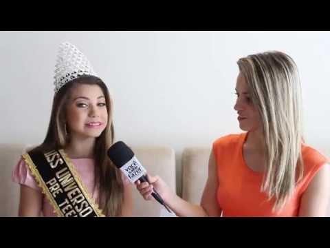 Miss Universo Pré Teen 2014 Entrevista