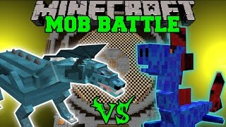 FROST DRAGON VS WATER DRAGON - Minecraft Mob Battles - Minecraft Mods