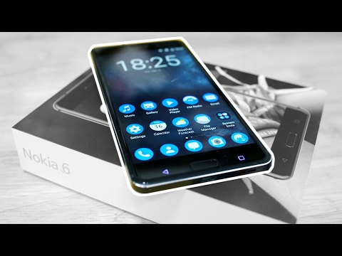 Nokia 6 - Unboxing & Hands On!