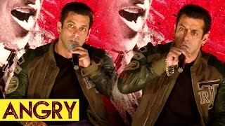 Salman Khan Gets ANGRY on Lady Reporter Asking About His Marriage