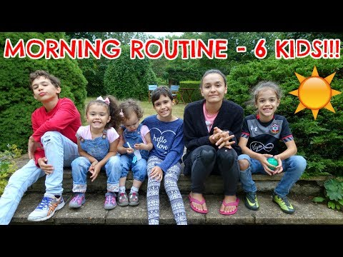 Xxx Mp4 MORNING ROUTINE WITH 6 KIDS 3gp Sex