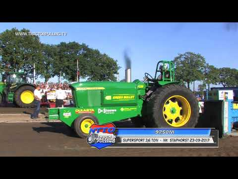TractorpullingTV HD - 3600kg Supersport - NK Staphorst 2017