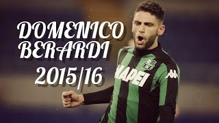 Domenico Berardi ► All Goals & Skills 2015/16 - US Sassuolo | 720pᴴᴰ
