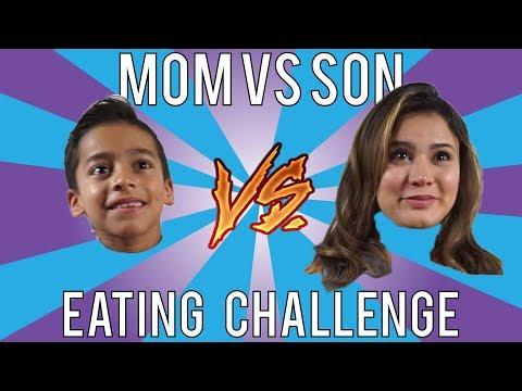 Xxx Mp4 Mom Vs Son EATING CHALLENGE ANDREA ESPADA VS KING FERRAN LOSER GET PIE IN FACE 3gp Sex