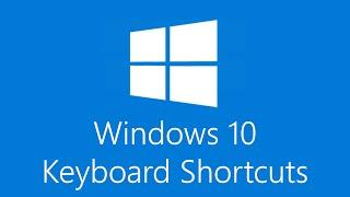 Windows 10 Keyboard Shortcuts!
