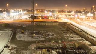 HMC construction time lapse from Fall 2014 to April 17, 2015
