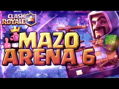 MAZO PARA ARENA 6 - SUBIR COPAS!! - CLASH ROYALE A POR TODAS