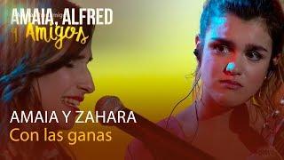 Amaia, Alfred y Amigos | Zahara canta con Amaia - Con las ganas | Playz