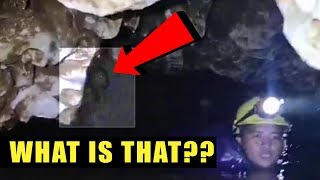 CREATURE IN CAVE?!? Thailand Soccer Team Cave Rescue