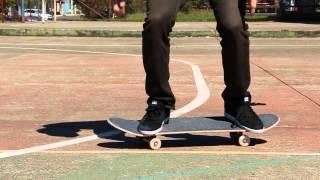 MANOBRAS - Como fazer o FLIP (base Goofy)