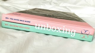 Album Unboxing : BTS You Never Walk Alone (both versions bc who am I)