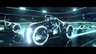 Tron Legacy Lightbike Scene