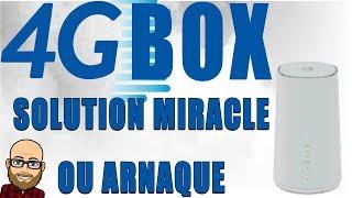 4G BOX: SOLUTION MIRACLE OU ARNAQUE!!! MON AVIS
