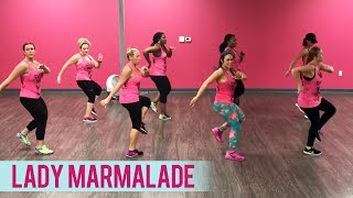 Christina Aguilera, Lil' Kim, Mya, Pink - Lady Marmalade (Dance Fitness with Jessica)