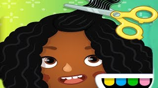 Toca Hair Salon Kids Game - Play Amazing Styling Tools - Funny Gameplay Video