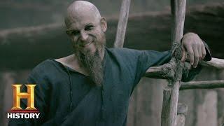 Vikings: Season 4 Character Catch-Up - Floki (Gustaf Skarsgård) | History