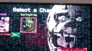 KILL THE NIGHT GAURD Bonnie Simulator ERROR Kid 0101