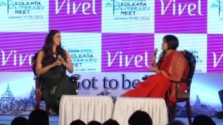 Tabu at Tata Steel Kolkata Literary Meet 2016