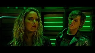 X - Men Apocalypse | Quicksilver Talking To Mystique