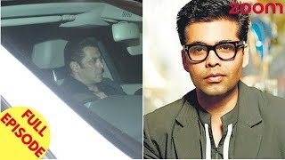 Salman Arrives To Pay His Last Tribute To Sridevi   Karan Johar To Quit Acting Permanently & More