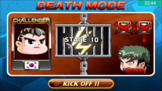 Head Soccer Challenge - Death Mode with South Korea Stages 1-10 (Part 10#)