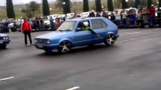 VW Golf Velocity spinning in secunda
