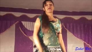 ढोड़ी में चुम्मा bhojpuri sexy arkestra by Saket Raj