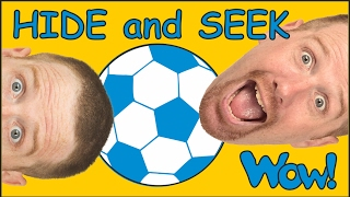 Hide and Seek + MORE English Stories for Kids from Steve and Maggie | Wow English TV