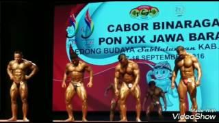 Atlet Binaraga Asal Bengkulu raih medali perak pada PON 2016