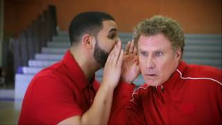 Drake and Will Ferrell Handshake Lessons - NBA Awards 2017 | NBA on TNT
