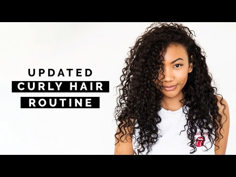 UPDATED WASH GO CURLY HAIR ROUTINE