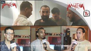 أحمد سعد في كواليس كليبه الجديد