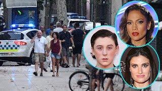 Celebs React & Send Love After Barcelona Terror Attack