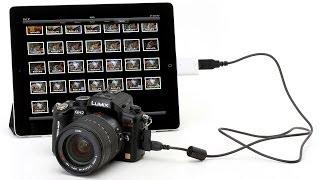 انقل صورك من الكاميرا الى الايباد بدون كمبيوتر او جلبريك