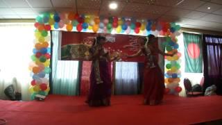 Shruti and Susmita Boisakhi Mela Dance BanglaUnited Amsterdam