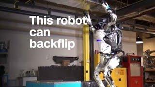 Boston Dynamics' Atlas robot can backflip now