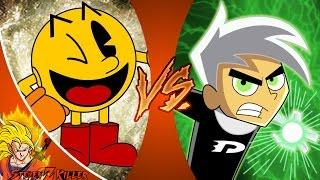 PAC-MAN vs DANNY PHANTOM! Cartoon Fight Club Episode 105 REACTION!!!
